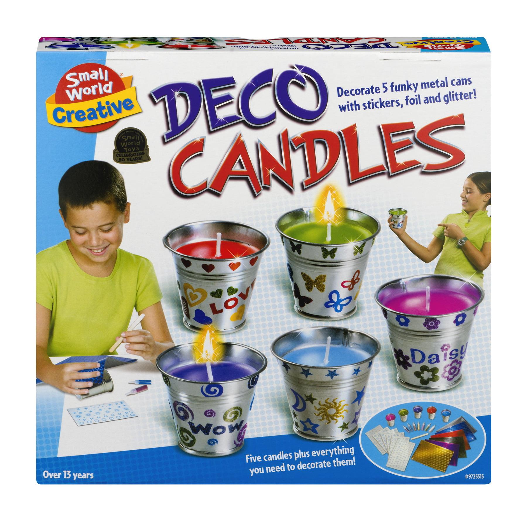 Smallworld Deco Candles, 1.0 CT