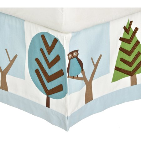 Dwell Studio Sham - DwellStudio Patterned Canvas Crib Skirt, Owls Sky..., By Dwell Studio Ship from US