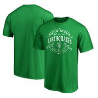 San Jose Earthquakes Fanatics Branded St. Patrick's Day Tullamore T-Shirt - Green