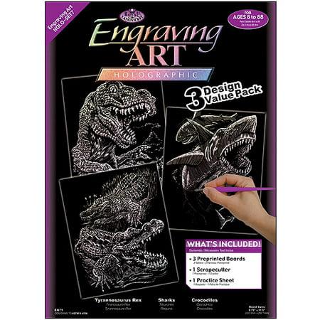 Foil Engraving Art Kit Value Pack, 8-3/4