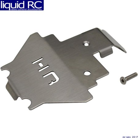 - Hot Racing STRXF332C Stainless Steel Center Belly Pan Armor Skid Plate Traxxas T