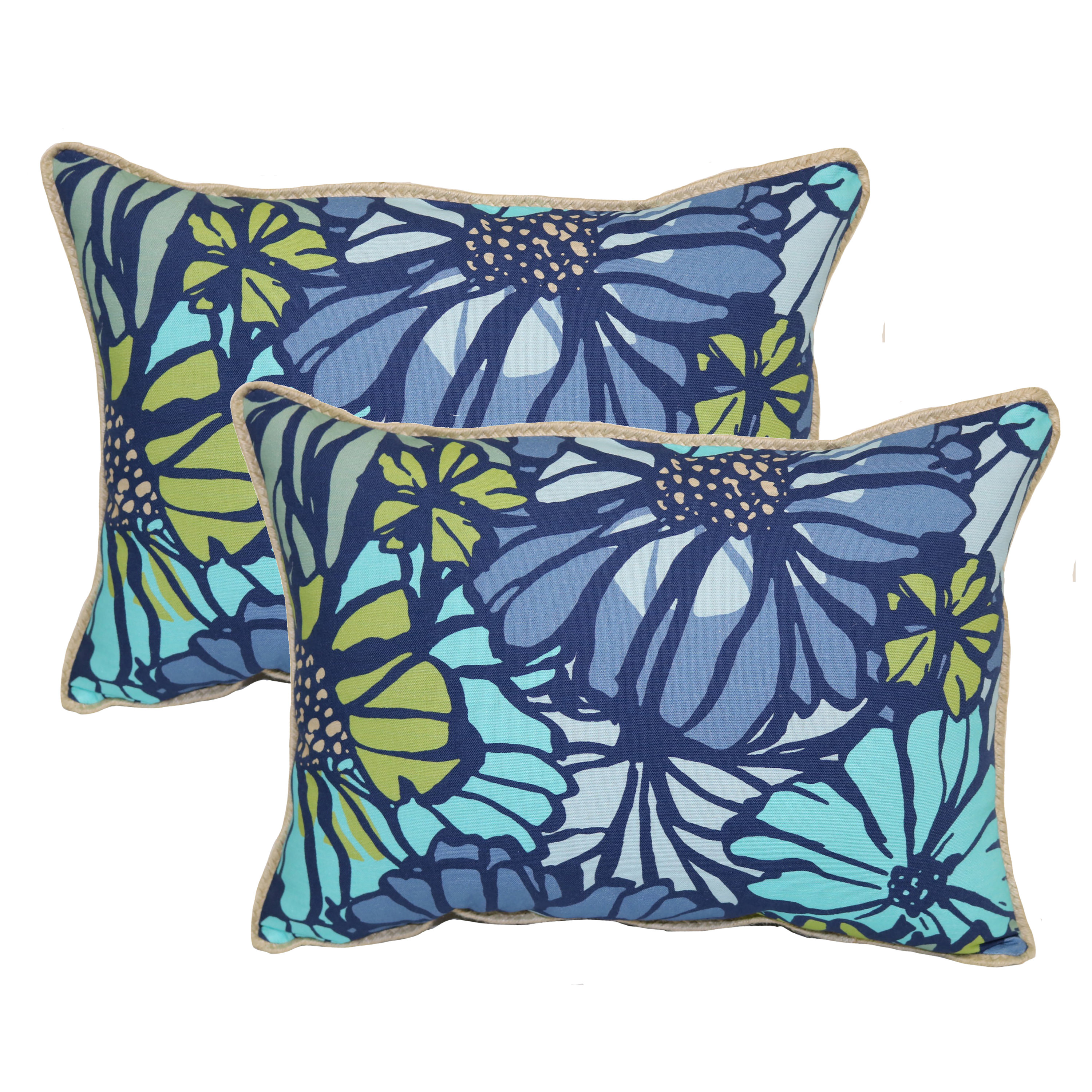 Better Homes and Gardens Sausalito Floral Toss Pillow - Set of 2
