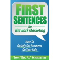 First Sentences For Network Marketing