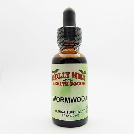 Holly Hill Health Foods, Wormwood, 1 Ounce