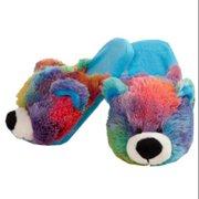 My Pillow Pets Peaceful Bear Slippers Medium Child Size 1-3