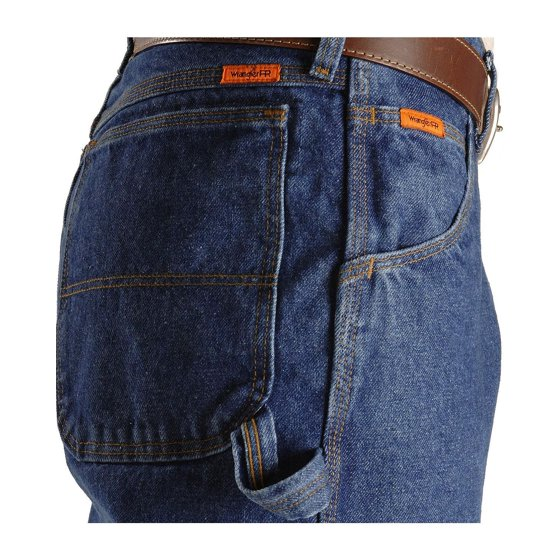 e0c6cef6 Do not use starches, fabric softeners, or other laundry additives. Wrangler  Men's Fire-Resistant Riggs Jeans Carpenter Relaxed Fit - Fr3w020