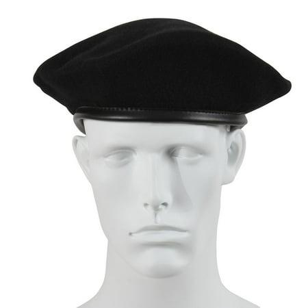 Ultra Force G I  Style Wool Black Beret