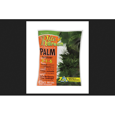 Rite Green Palm Fertilizer For Palm Trees, Tropical Plants 20 (Best Fertilizer For Tropical Plants)