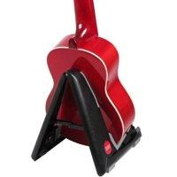 Portable Folding Ukulele Stand by Hola! Music - Black