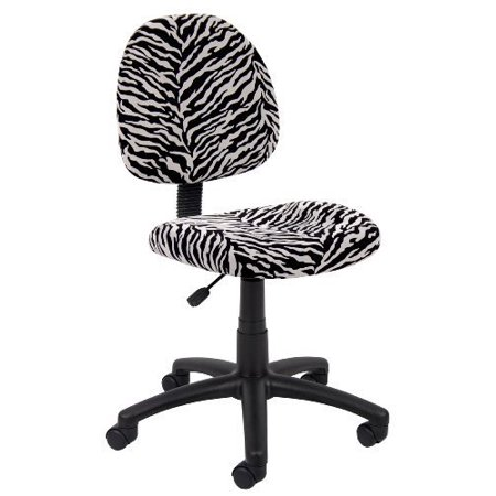 Perfect Posture Delux Microfiber Task Chair without Arms in - Perfect Posture Chair