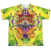 Jefferson Airplane Take Off (Front Back Print) Big Boys Sublimation Shirt