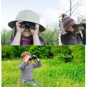 Gououd Toy Binoculars for Kids Bird Watching Educational Learning Hunting Hiking-Birthday Presents (green)