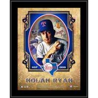 "Nolan Ryan Texas Rangers 10.5"" x 13"" Hall of Fame Sublimated Plaque"