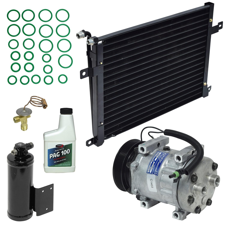 A//C Compressor /& Component Kit-Compressor-Condenser Replacement Kit UAC KT 4633A