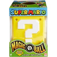 Magic 8 Ball Super Mario Edition with Fun Phrases for Ages 6Y+