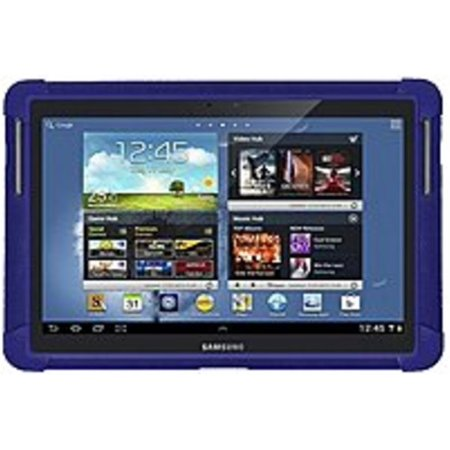 Amzer Tablet PC Case - Tablet PC - Blue - Silicone