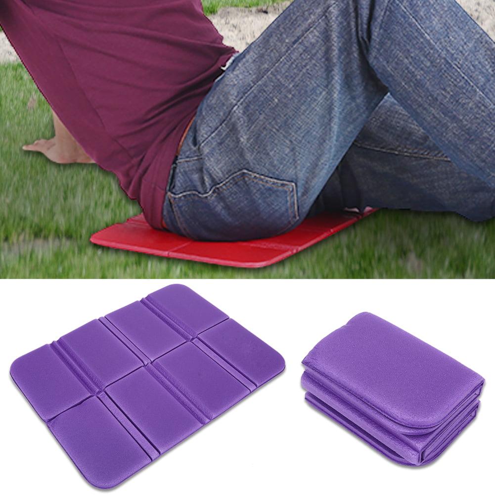 purple Jasnyfall Outdoor Portable Foldable EVA Foam Mat Waterproof Moisture-proof Cushion Seat Pad for Hiking Camping Travel Honeycomb Mat