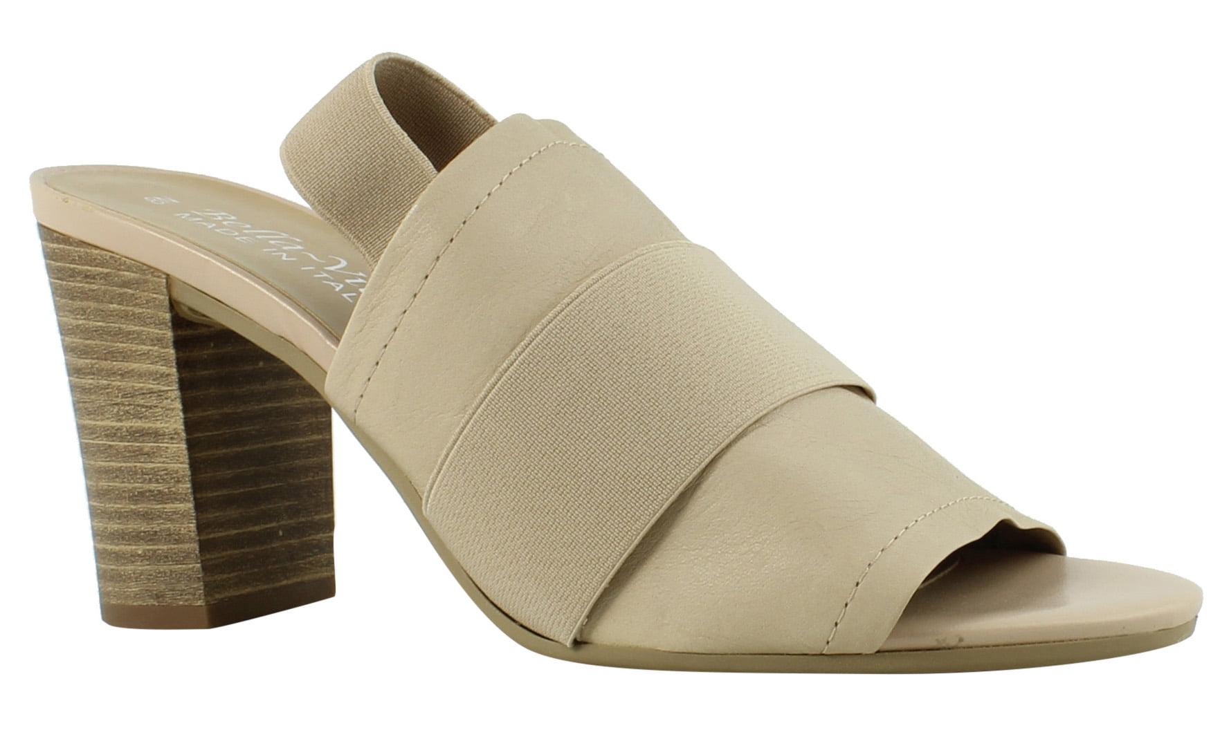 New Bella Vita Womens Sassari Nude Gore Sandals Size 8 (AA,N) by Bella Vita