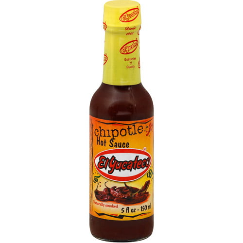 El Yucateco Chipotle Hot Sauce, 5 oz (Pack of 12) by Generic
