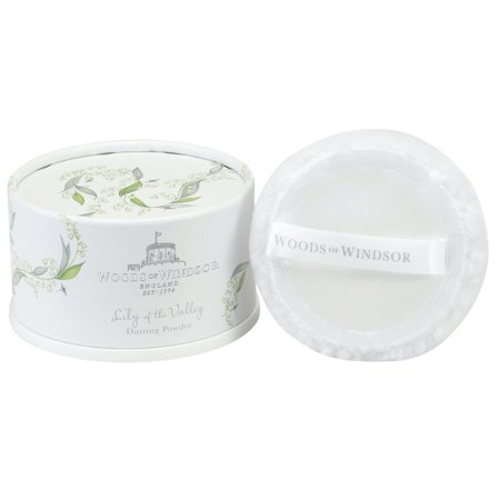 Woods of Windsor Lily of the Valley Dusting Powder 100g (Woods Of Windsor Lily Of The Valley)