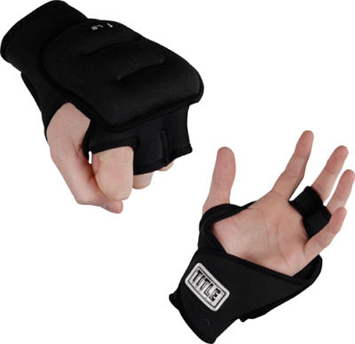 Title Weighted Gloves-1 lb pair
