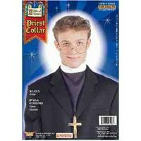 04601de24c Product Image Adults Mens White Priest Padre Vampire Slayer Costume Collar