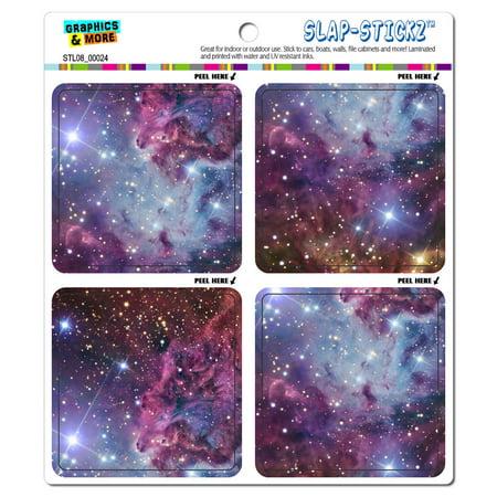 Fox Fur Nebula - Galaxy Space SLAP-STICKZ(TM) Premium Sticker