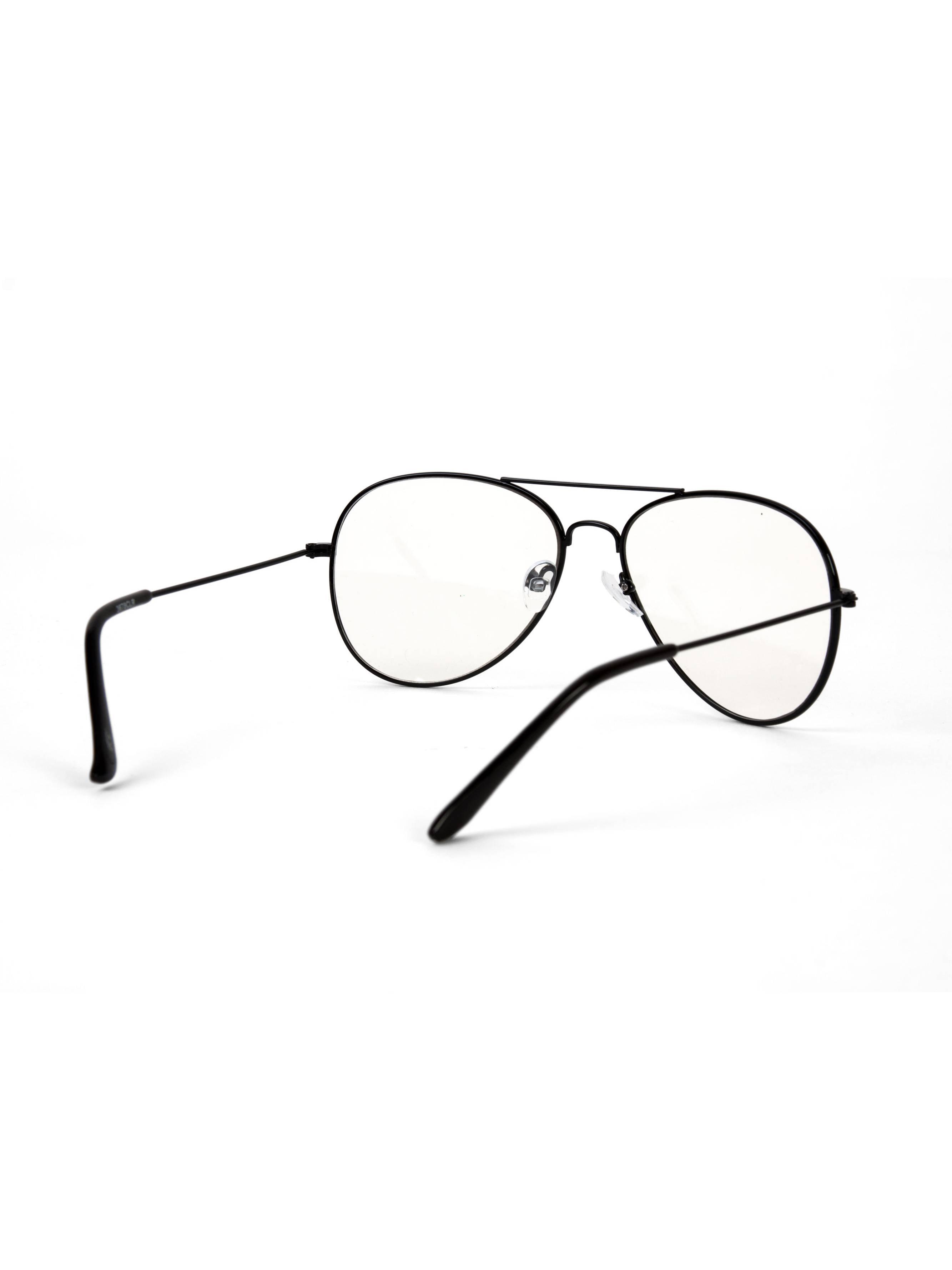 42dfff209d Gravity Shades - Gravity s Non-Prescription Premium Aviator Clear Lens  Glasses w  GT Microfiber - Walmart.com