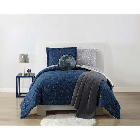 My World Night Sky Printed Twin XL Comforter Set