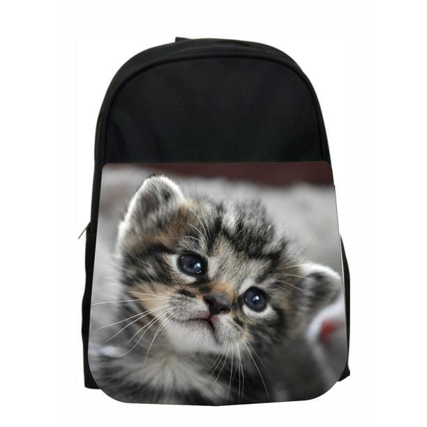 Accessory Avenue School Backpack Cat Darling Kitten Kids Pre School Backpack Walmart Com Walmart Com
