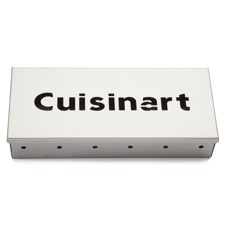 Cuisinart® Wood Chip Smoker Box - 9 Inch X 4 Inch Stainless Steel Construction, Infuse Your BBQ With Smoky Flavor