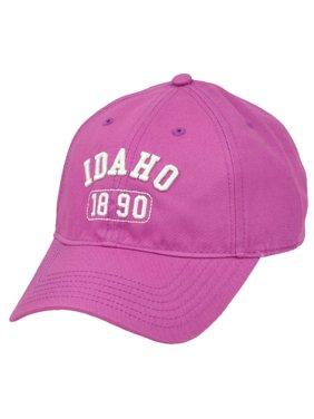 Idaho Gem State USA America 1890 Purple Adjustable Womens Relaxed Hat Cap Ladies