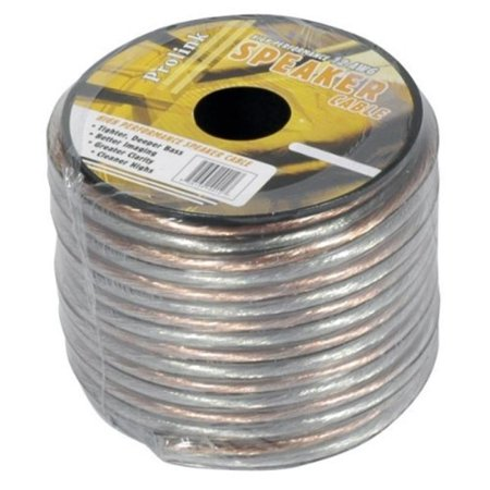 Clear Wire Reviews (Luxtronic A1225S 12 Gauge Clear Speaker Wire, 25 Ft. )