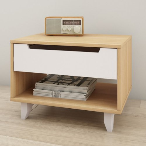 Nexera Nordik 1 Drawer Nightstand