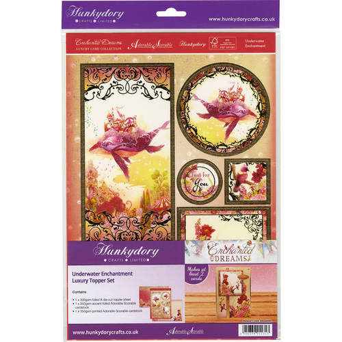 Enchanted Dreams Fantasy A4 Topper Set