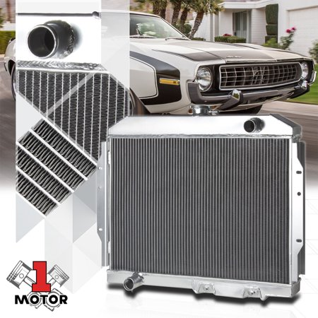 Aluminum 2 Row Performance Radiator for 58-74 AMC AMX/Javelin/Marlin/SST AT/MT 59 60 61 62 63 64 65 66 67 68 69 70 71 72 73