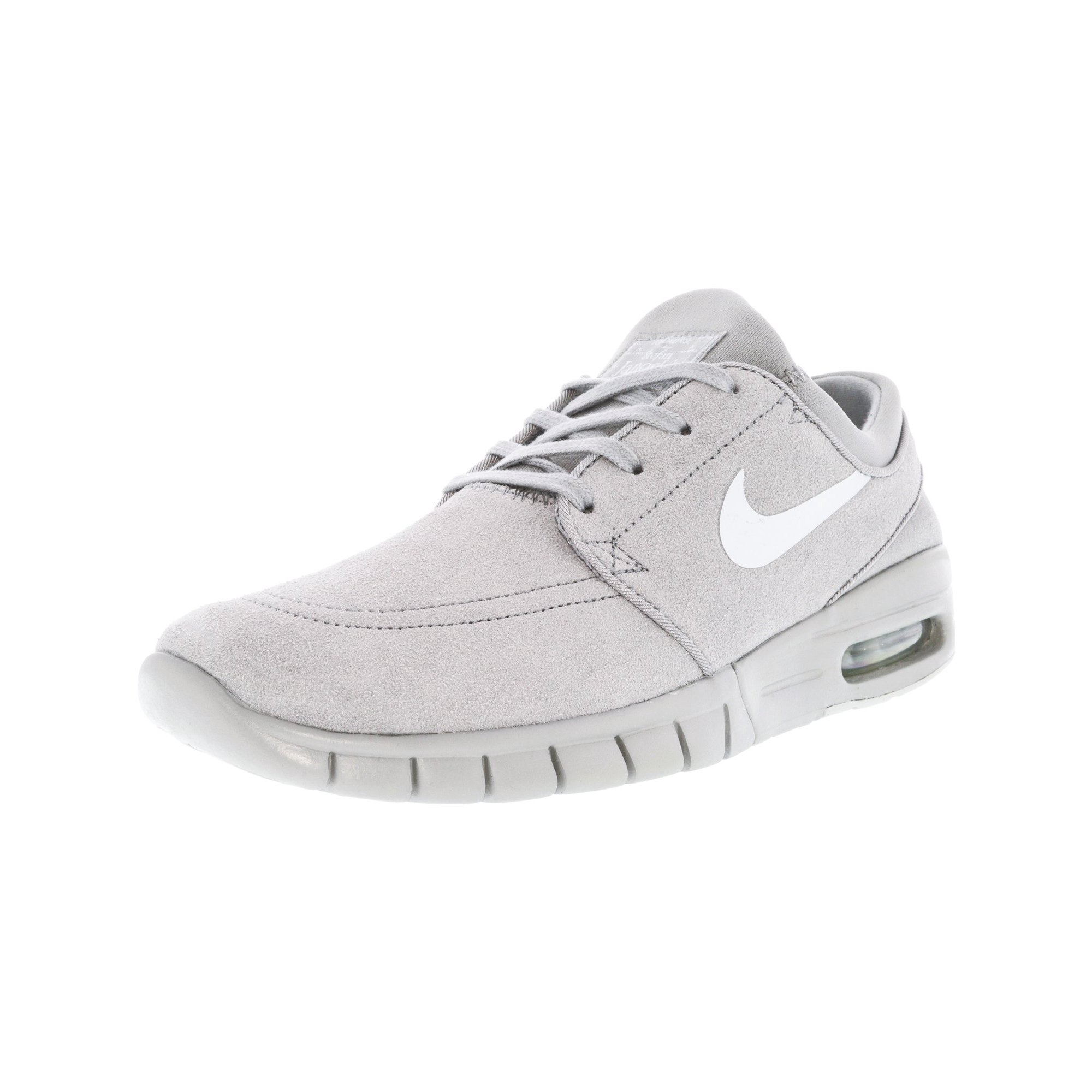 41c0e68a0f2 Nike Men s Stefan Janoski Max L Black   Green Glow White Ankle-High Fashion  Sneaker - 9M