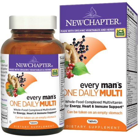 New Chapter  Every Man s One Daily Multi  96 (New Chapter Every Womans One Daily Multi)