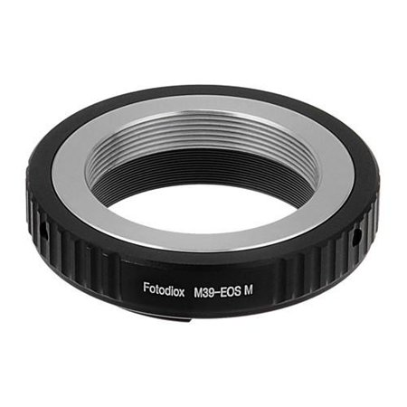 M39 Body (Fotodiox Lens Mount Adapter - M39/L39 Screw Mount SLR Lens to Canon EOS M (EF-M Mount) Mirrorless Camera)