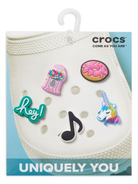 Crocs The Sweet Life 5 Pack Shoe Charms Personalize with Jibbitz for Crocs