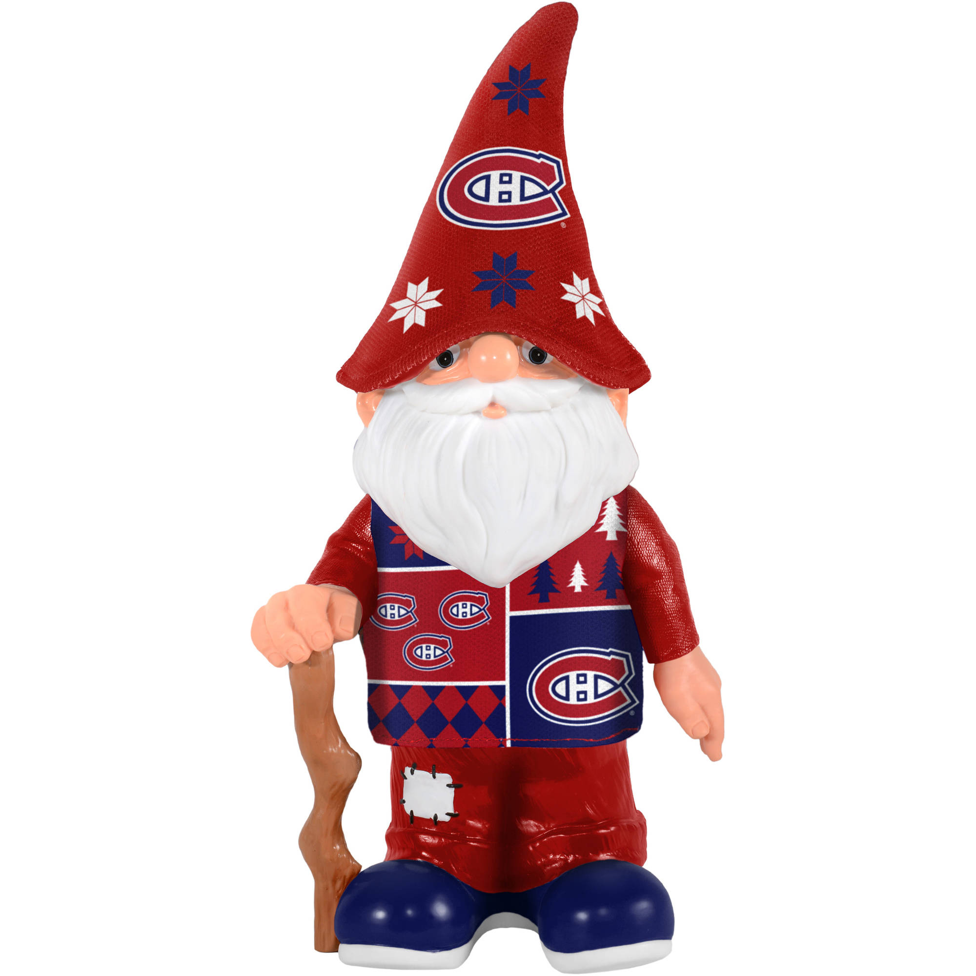 Forever Collectibles NHL Real Ugly Sweater Gnome, Montreal Canadiens