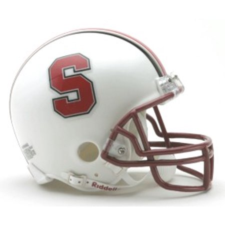 Stanford Cardinal 2002-07 Throwback Replica Mini Helmet w/ Z2B Mask