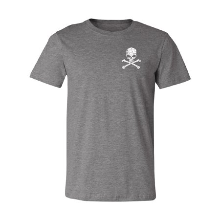 Pocket Design - Skull and Crossbones Men's T-shirt Souvenir - Skull Crossbones