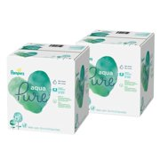 Pampers Aqua Pure Sensitive Baby Wipes, 16 Pop-Top Packs (896 Total Wipes)
