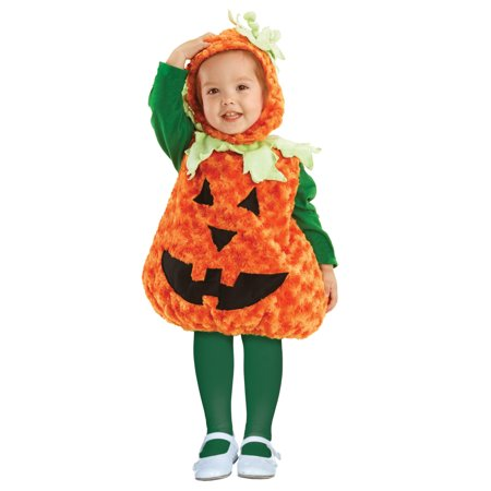 Pumpkin Child Halloween Costume - Easy Pumpkin Halloween Costume