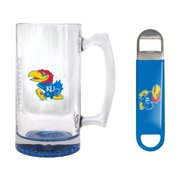 KU Jayhawks 25 oz. Beer Mug Gift Set