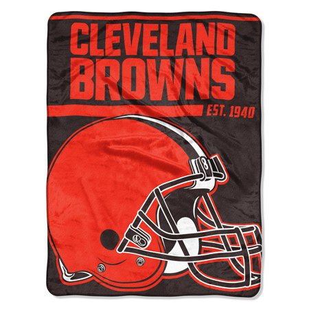 "NFL Cleveland Browns ""40-Yard Dash"" 46""x 60"" Micro Raschel Throw"