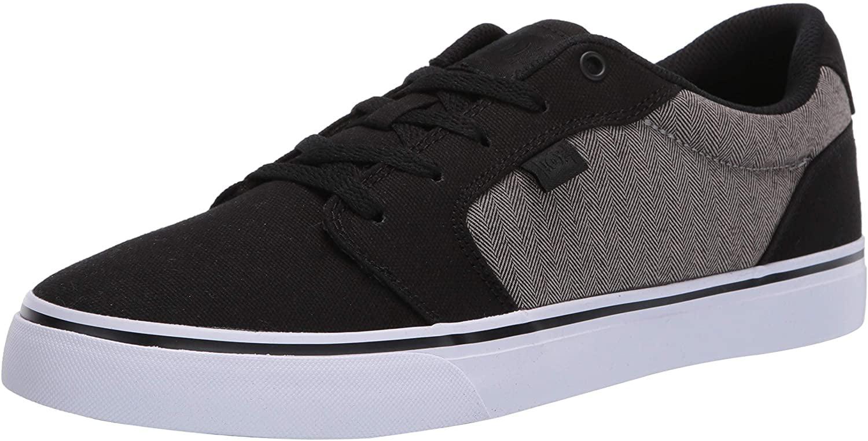 DC Men's Anvil TX SE Skate Shoe, Black