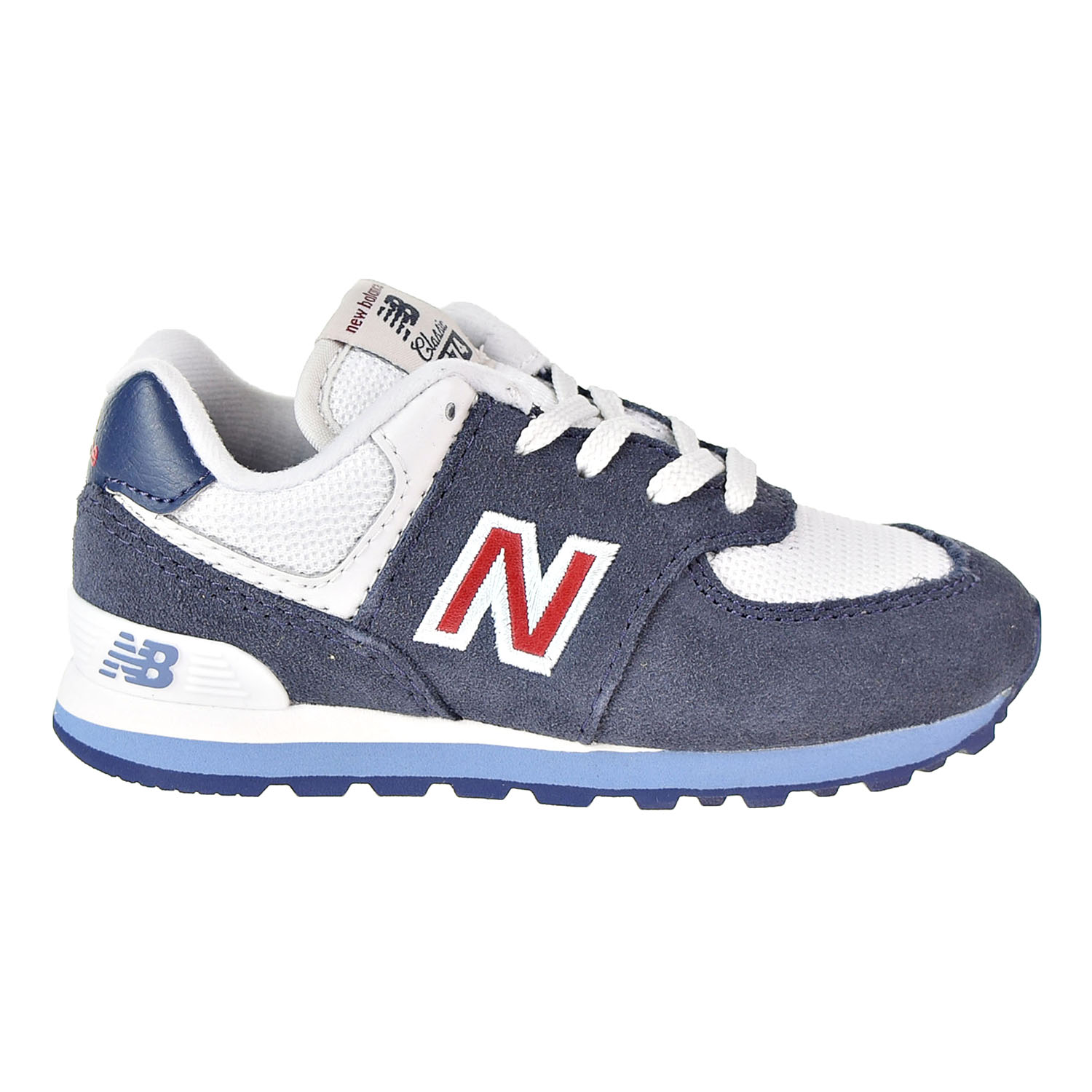 New Balance - New Balance 574 Serpent Luxe Toddler's Shoes Navy ...