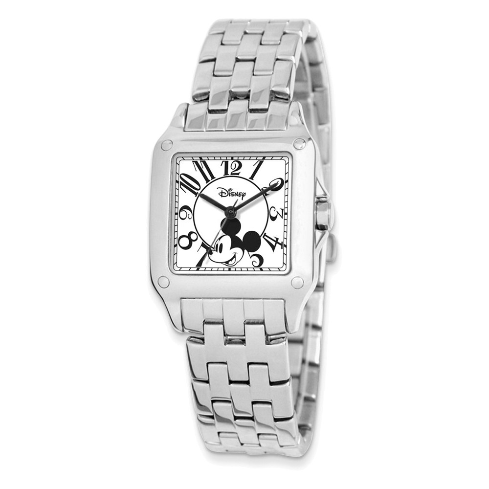 Disney Adult Size Alloy/Stnlss Steel Square Mickey Mouse ...